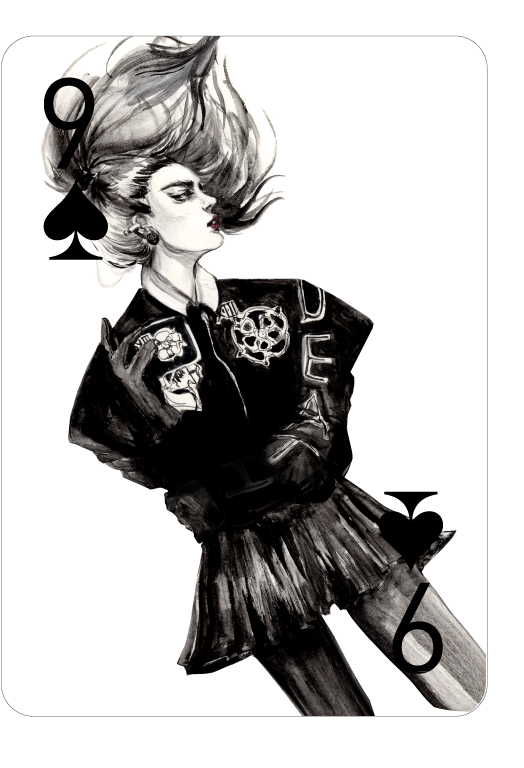 Decked_Out_Fashion_Playing_Cards_by_Connie_Lim_Nine_of_Spades