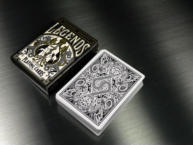 Legends-Playing-Cards-Metallic-Black