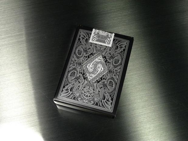 Legends-Playing-Cards-Metallic-Black