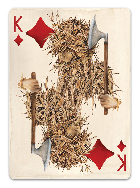 Pagan_Playing_Cards_King_of_Diamonds