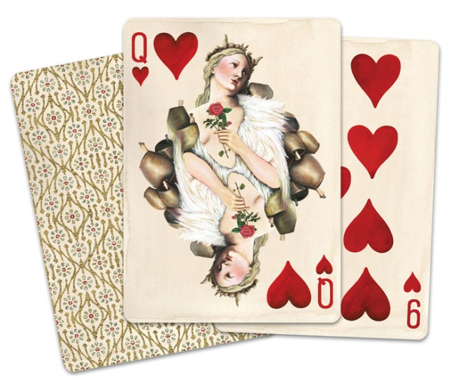 Pagan_Playing_Cards_Queen_of_Hearts