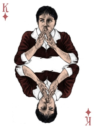 Sherlock-Holmes-Playing-Cards-by-Abby-Diamond-King-of-Diamonds