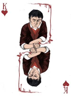 Sherlock-Holmes-Playing-Cards-by-Abby-Diamond-King-of-Hearts