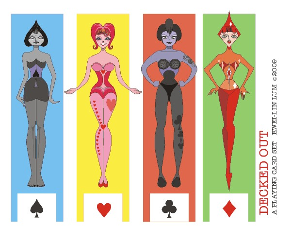 Playing-Card-Paper-Dolls-by-Kwei-Lin-Lum