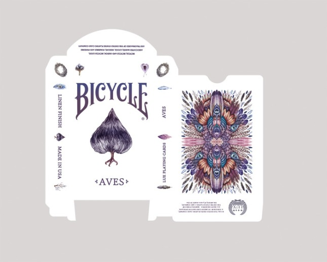 Bicycle-AVES-Deck-by-LUX-Playing-Cards-box