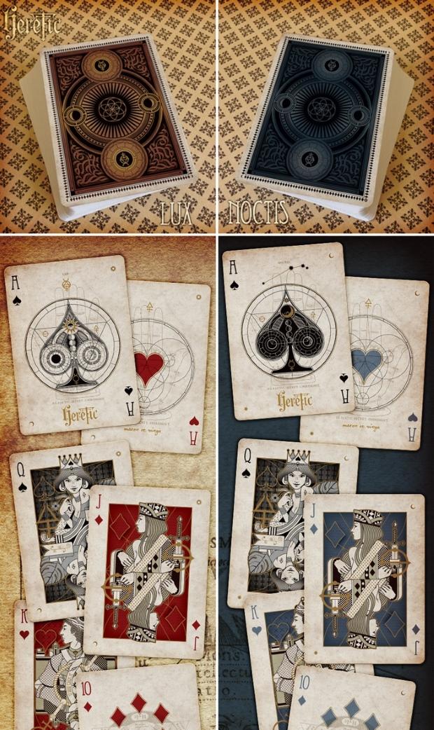 Heretic-Playing-Cards-by-Lorenzo-Gaggiotti-on-Kickstarter