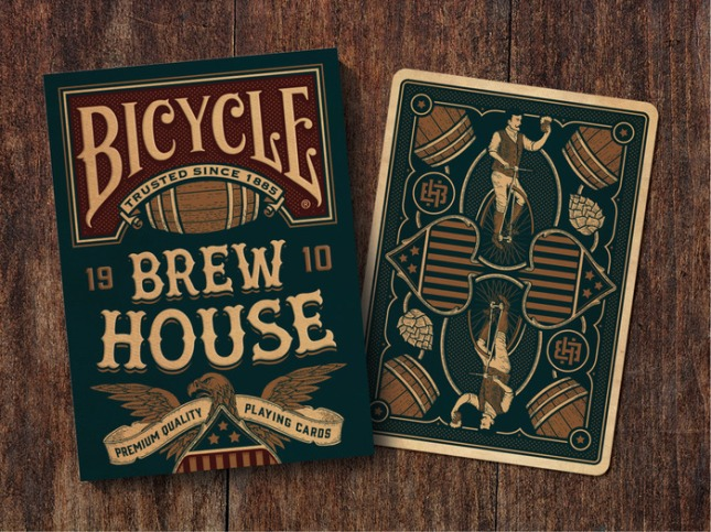 Bicycle-1910-Brew-House-Playing-Cards-by-Daniel-Kroemer-on-Kickstarter