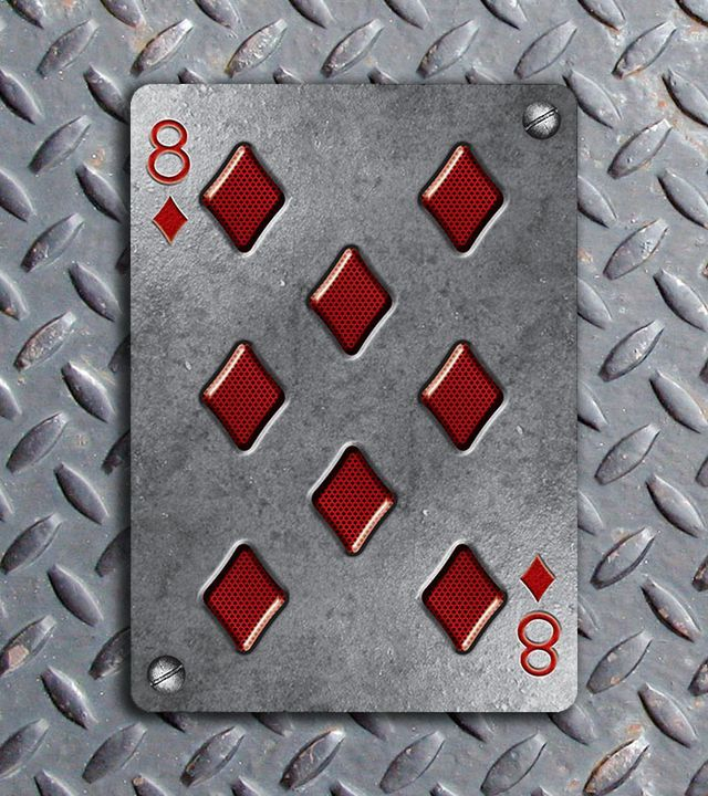 Bicycle-Metal-Deck-Eight-of-Diamonds