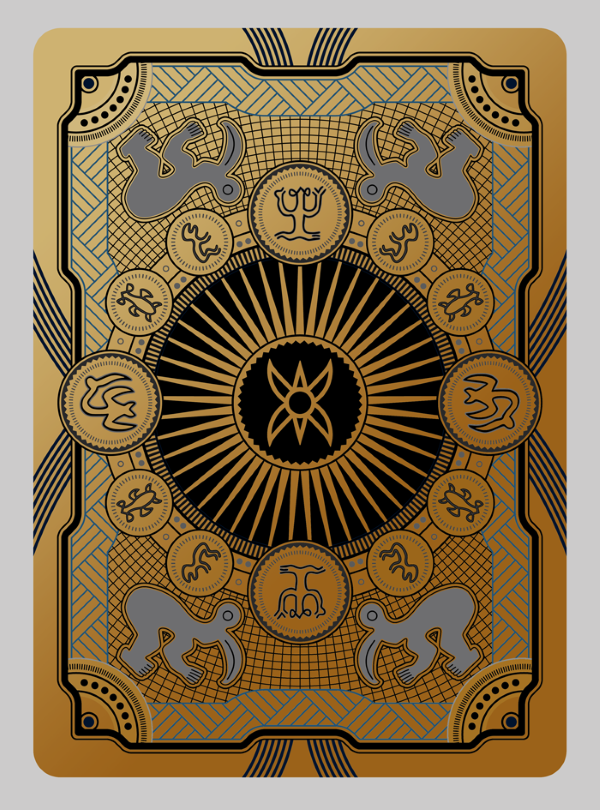 Bicycle-RongoRongo-Deck-Gilded-Back