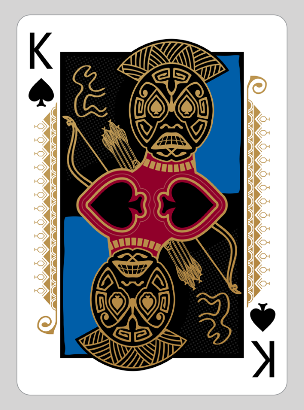 Bicycle-RongoRongo-Deck-King-of-Spades