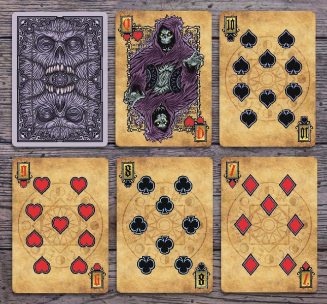 Grimoire-Playing-Cards-Necromancy-Number-Cards