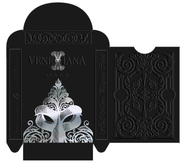 Venexiana-Dark-Playing-Cards-Masked-Edition-Box