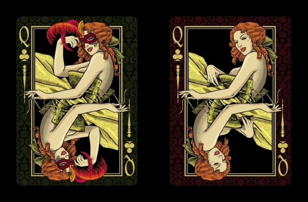 Venexiana-Dark-Playing-Cards-Queen-of-Spades