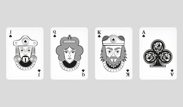 AISM-Playing-Cards-by-Simone-Bianchetti-Clubs