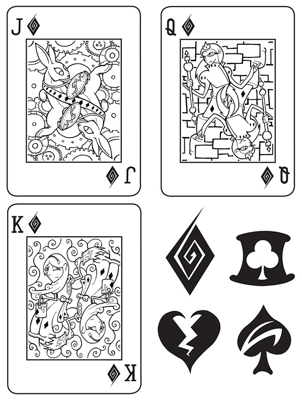 Alice-in-Wonderland-Playing-Cards-by-Adam-Mordecai-Diamonds