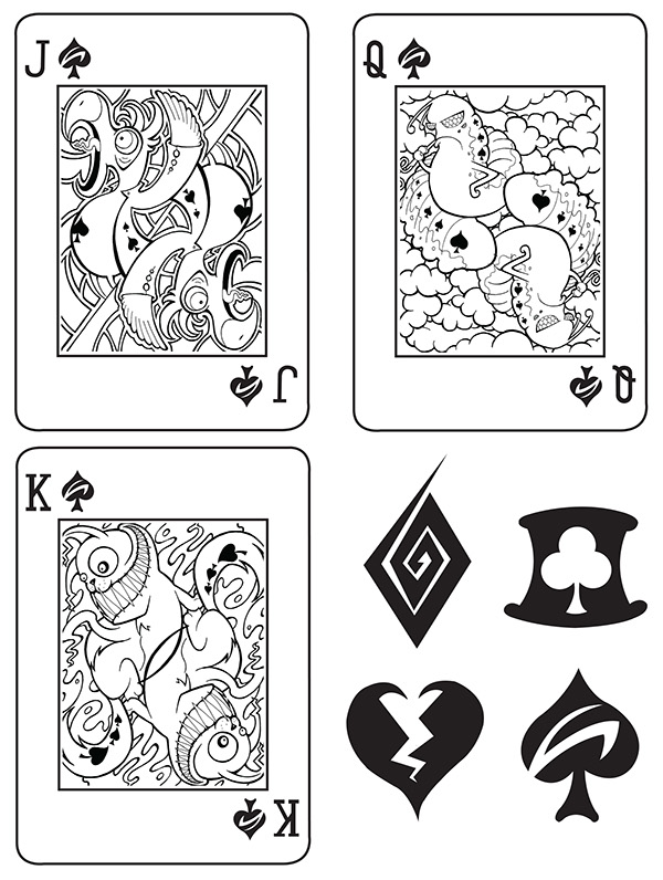 Alice-in-Wonderland-Playing-Cards-by-Adam-Mordecai-Spades