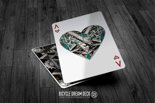 Bicycle-Dream-Playing-Cards-Silver-Ace-of-Hearts