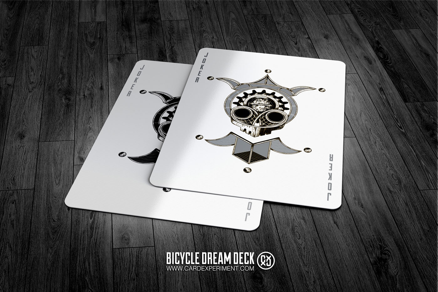 card experiment bicycle dream playing cards playing cards art collecting. Black Bedroom Furniture Sets. Home Design Ideas