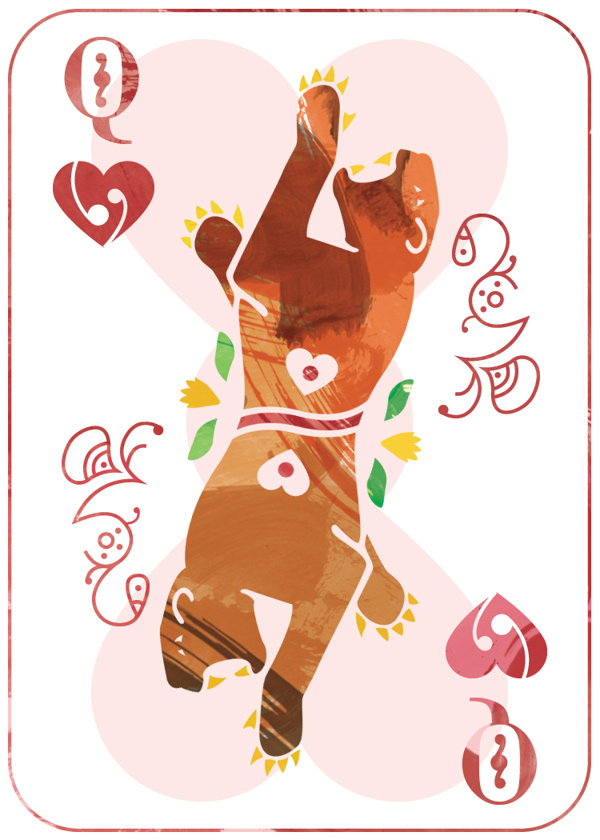 East-Indian-Playing-Cards-by-Lucy-Aldrich-Queen
