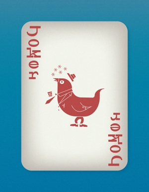 Jazzy-Birds-Playing-Cards-by-Paul-Bronaugh-Joker