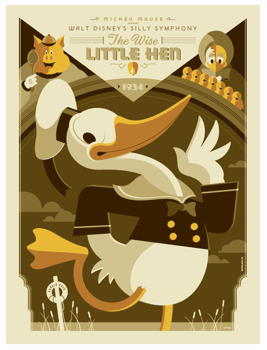 Disney-poster-by-Tom-Whalen