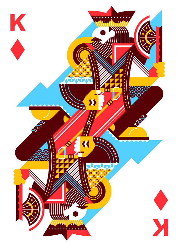 Royal-Seasons-Playing-Cards-by-Ricky-Linn-King-of-Diamonds