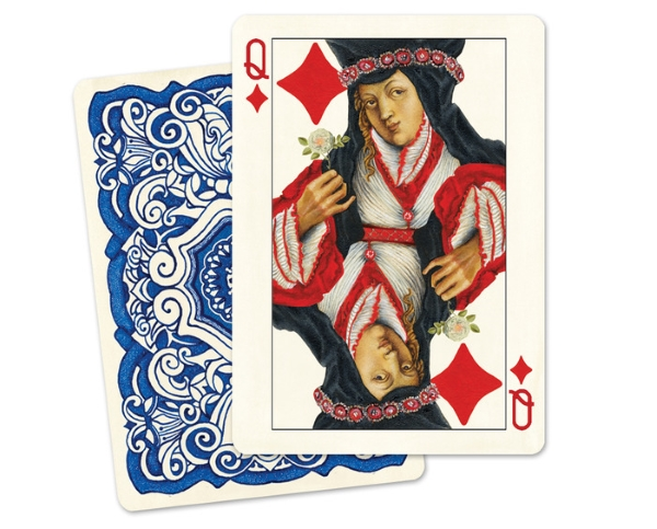 Uusi-Classic-Playing-Cards-Queen-of-Diamonds