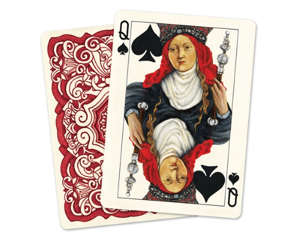 Uusi-Classic-Playing-Cards-Queen-of-Spades