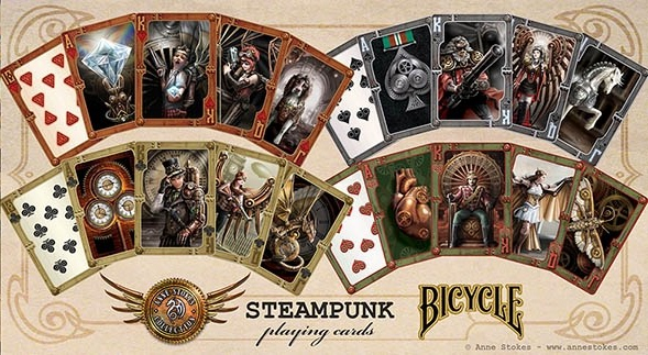 Bicycle-Anne-Stokes-Steampunk-Playing-Cards-Courts