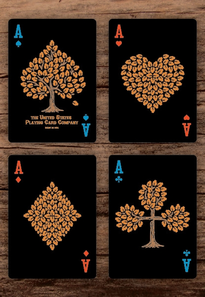 Bicycle-the-Lumberjacks-Playing-Cards-by-Vadim-Smolenskiy-Aces