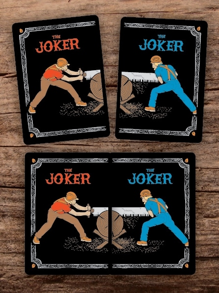Bicycle-the-Lumberjacks-Playing-Cards-by-Vadim-Smolenskiy-Joker