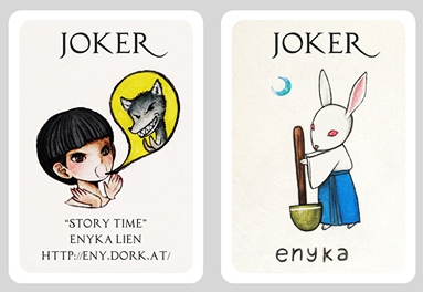 Story-Time-Playing-Cards-by-Eny-Space-Captain-Joker