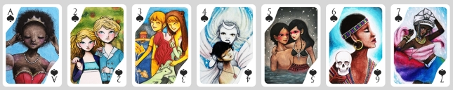 Story-Time-Playing-Cards-by-Eny-Space-Captain-Spades