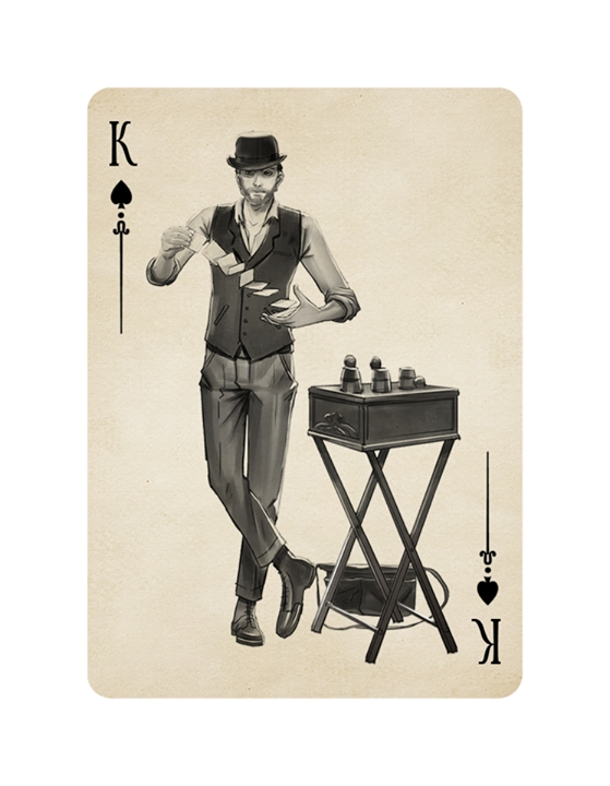 Buskers-Playing-Cards-by-Mana-Playing-Cards-King-of-Spades