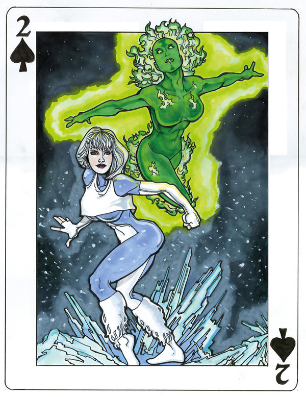 DC-Comics-Playing-Cards-by-Andrew-Amiya-Fire-and-Ice
