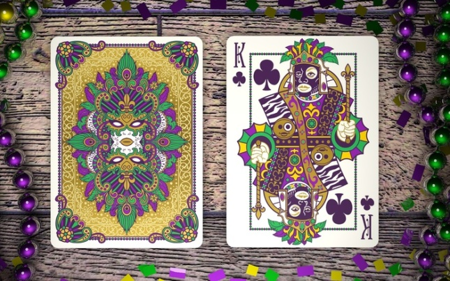 Mardi-Gras-Playing-Cards-by-Dave-Edgerly-King-of-Clubs