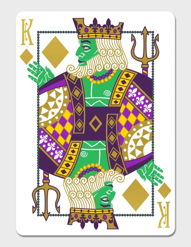 Mardi-Gras-Playing-Cards-by-Dave-Edgerly-King-of-Diamonds