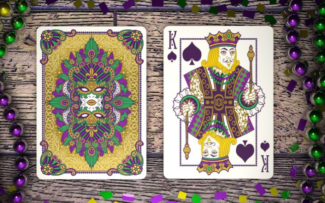Mardi-Gras-Playing-Cards-by-Dave-Edgerly-King-of-Spades