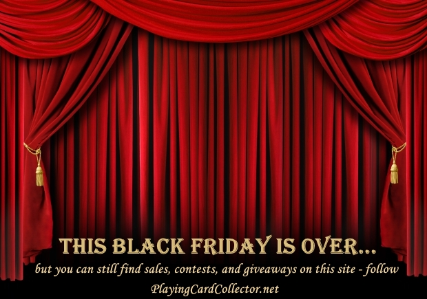 Black Friday 2014 Playing Cards Art Collecting