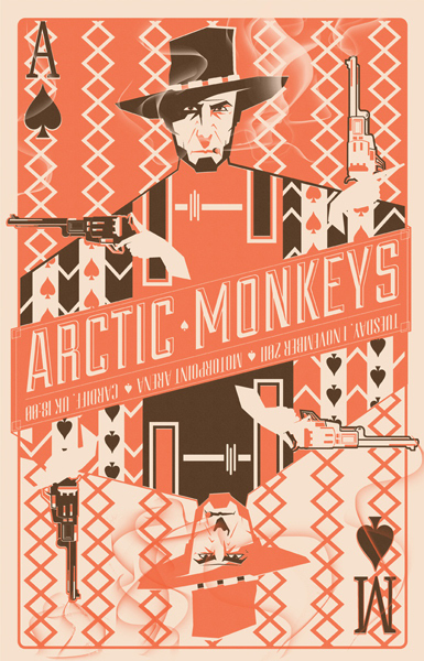 Arctic-Monkeys-Poster-by-Marinko-Milosevski