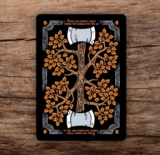 Bicycle-Lumberjacks-Playing-Cards-2nd-by-Vadim-Smolenskiy-Back