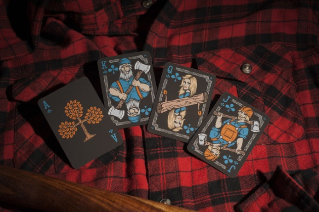 Bicycle-Lumberjacks-Playing-Cards-2nd-by-Vadim-Smolenskiy-Clubs