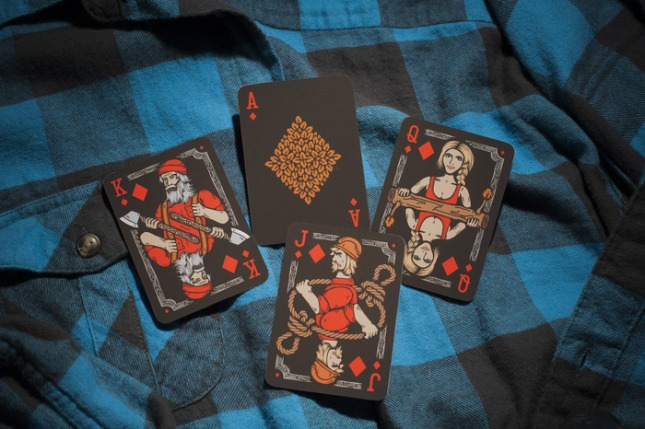Bicycle-Lumberjacks-Playing-Cards-2nd-by-Vadim-Smolenskiy-Diamonds