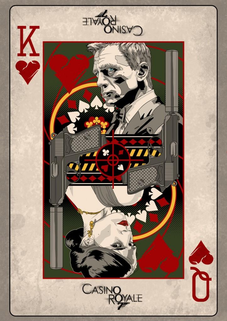 Filmplakat James Bond 007 Casino Royale 2006  Plakat