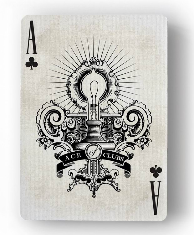 Innovation-Playing-Cards-by-Jody-Eklund-Ace-of-Clubs