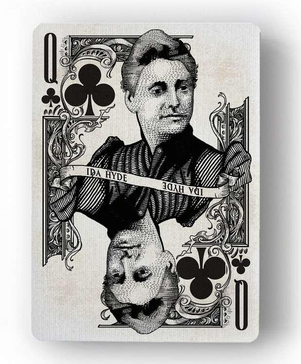 Innovation-Playing-Cards-by-Jody-Eklund-Queen-of-Clubs