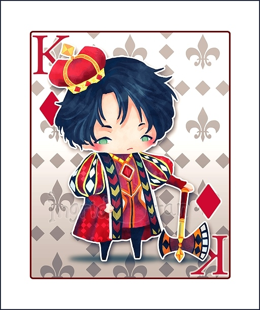 King-of-Diamonds-by-Ingrid-Tan