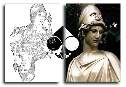 Nouveau-Playing-Cards-Athena