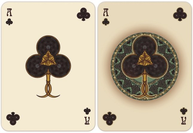 Nouveau-Playing-Cards-by-BFPC-Ace-of-Clubs