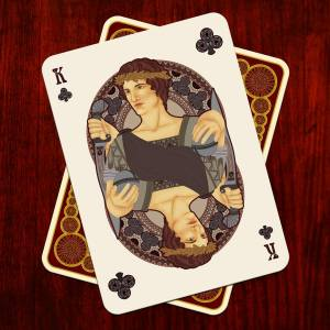 Nouveau-Playing-Cards-by-BFPC-King-of-Clubs
